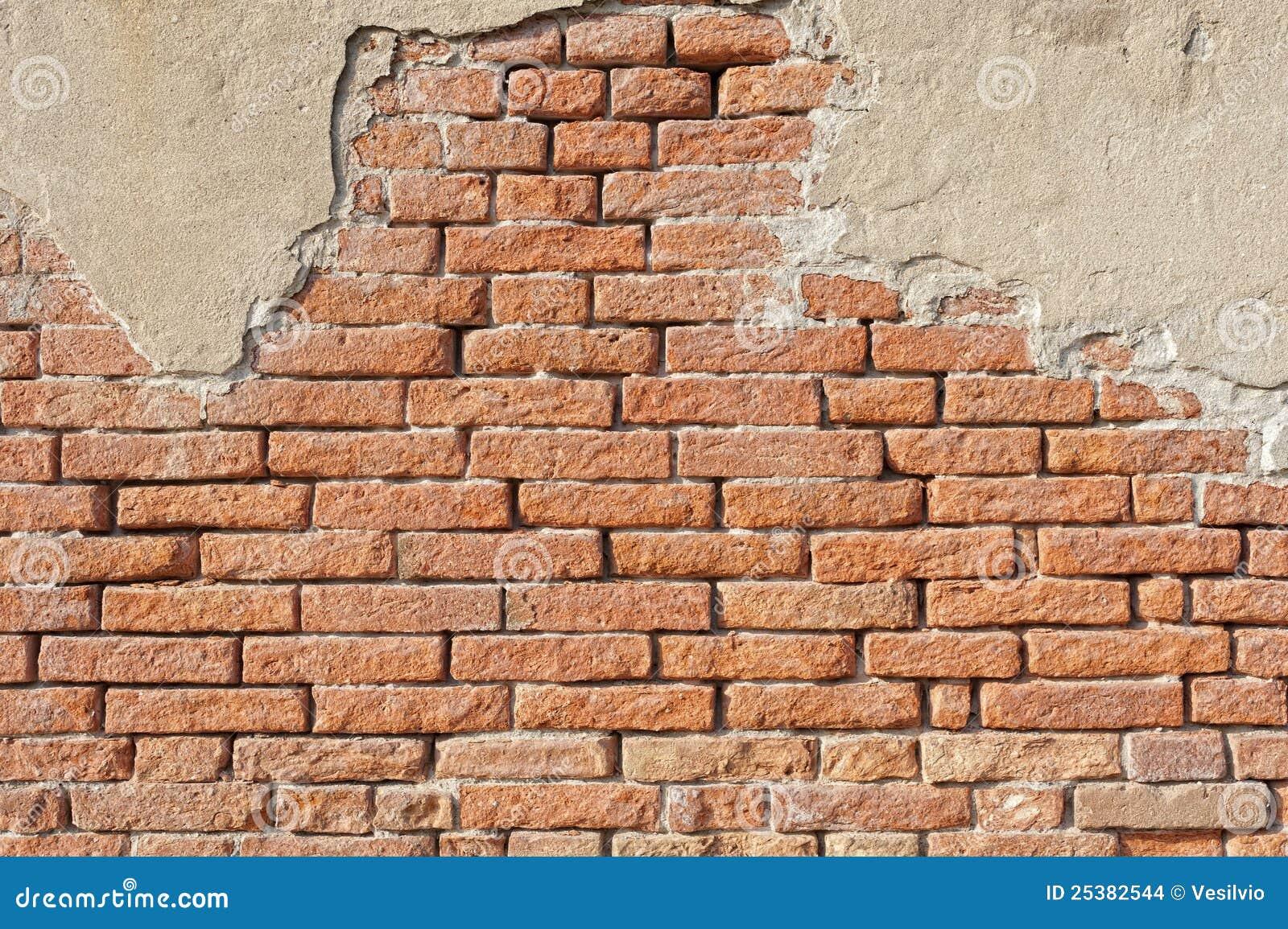 Ancient Brick Wall Stock Photo Image Of Concept Scraped
