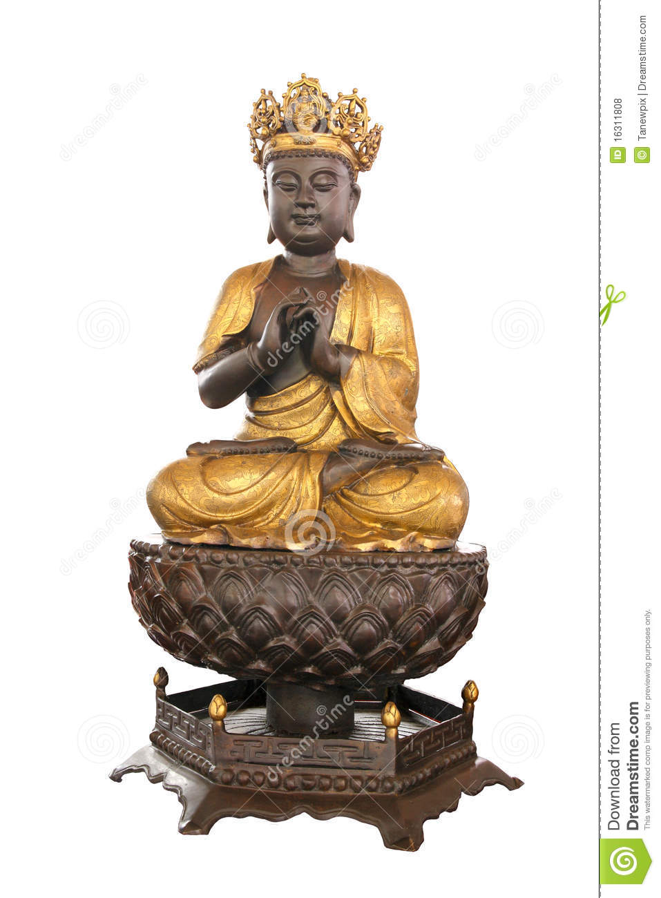 Ancient Buddha Royalty Free Stock Photos - Image: 16311808