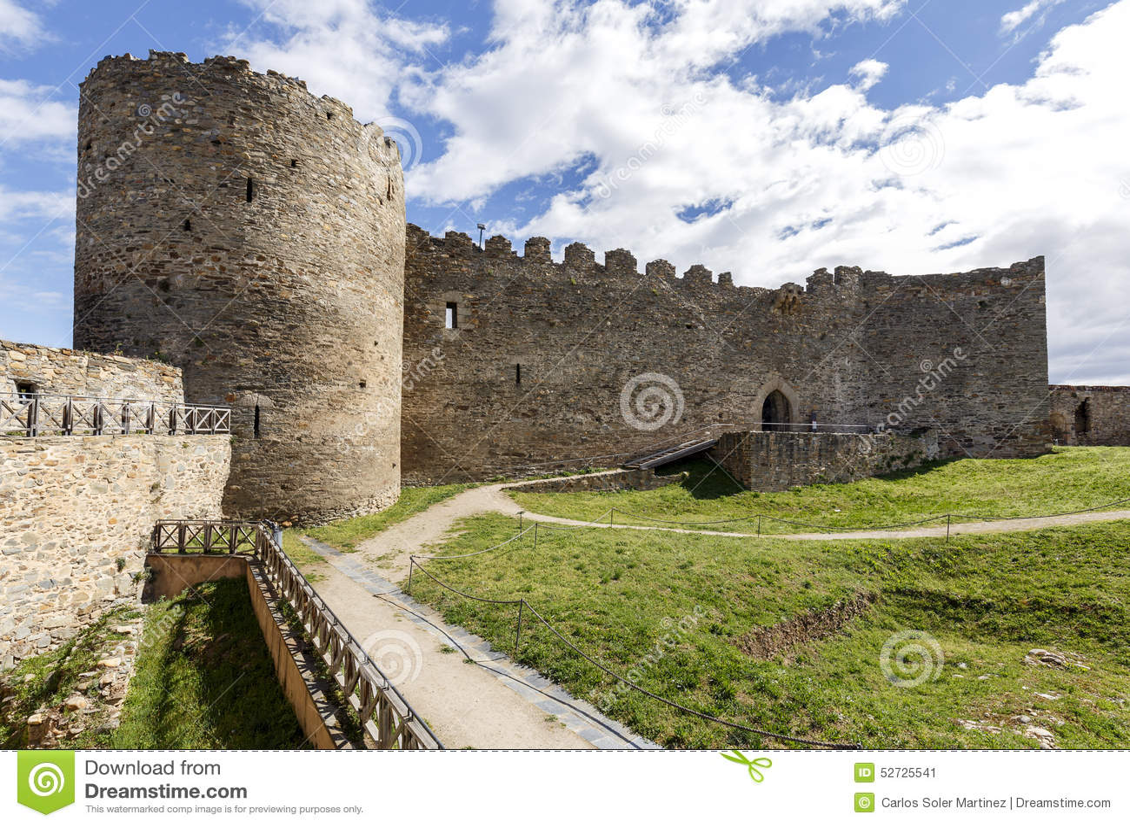 Ponferrada Spain  City pictures : Ancient castle of Ponferrada. Spain, the Bierzo, Spain.