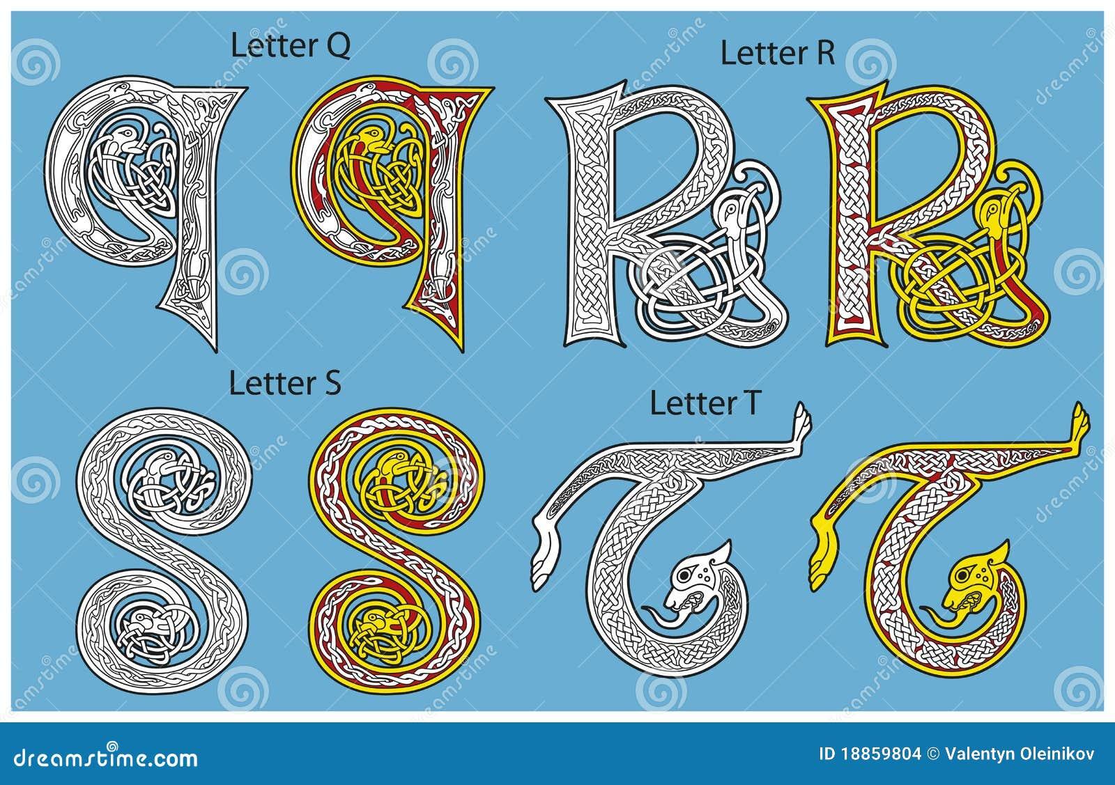 Old irish writing alphabet game