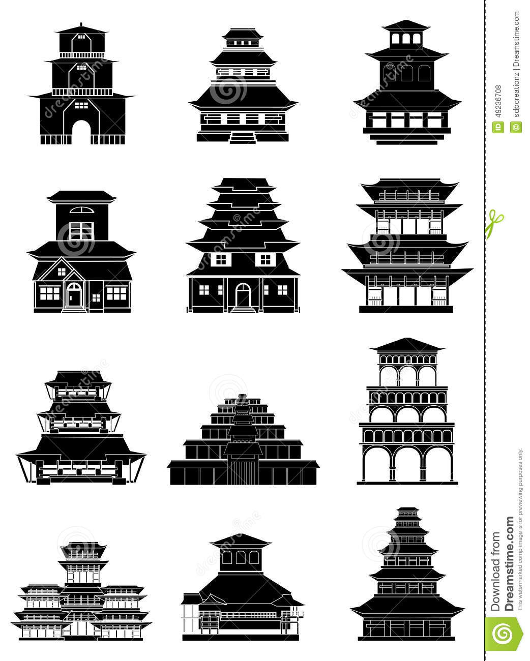 coloring pages ancient chinese houses - photo#43