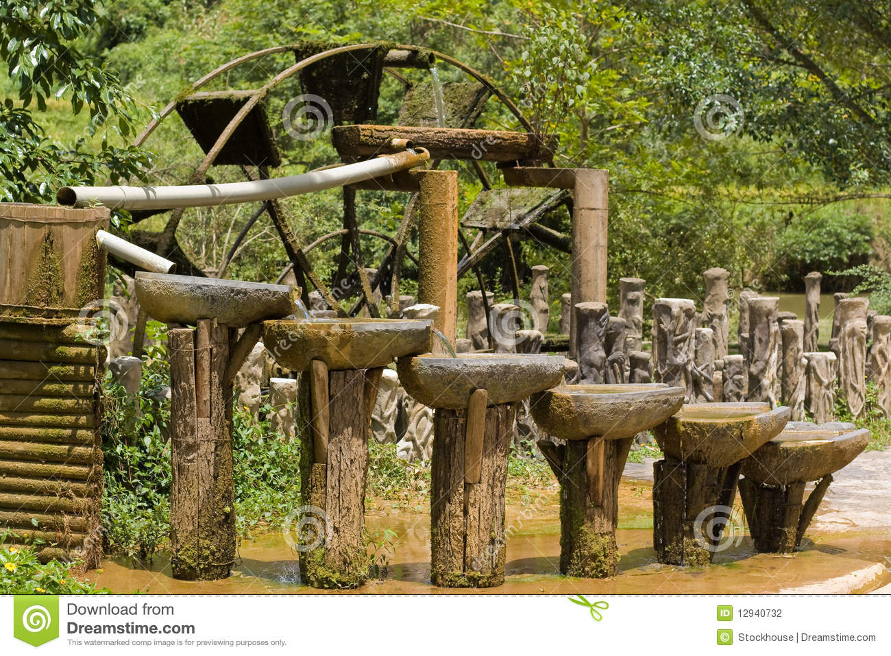 Ancient Chinese Water Circulation System Stock Photo ...