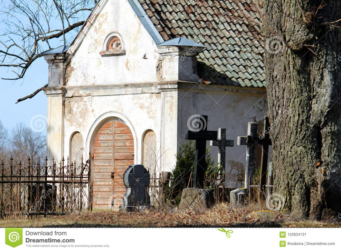 Ancients cemetry in Latvia
