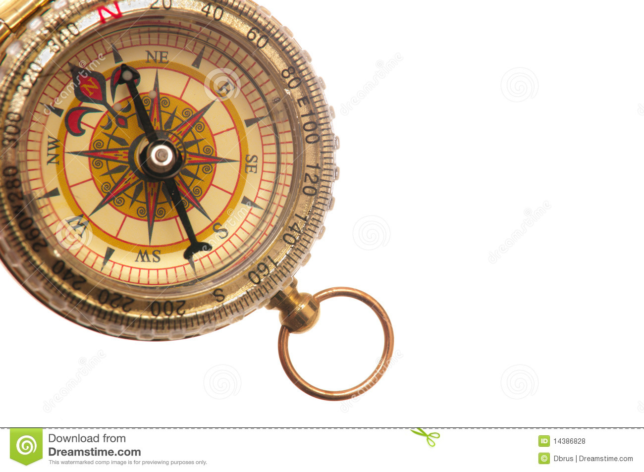 Ancient Compass Royalty Free Stock Photos Image 14386828