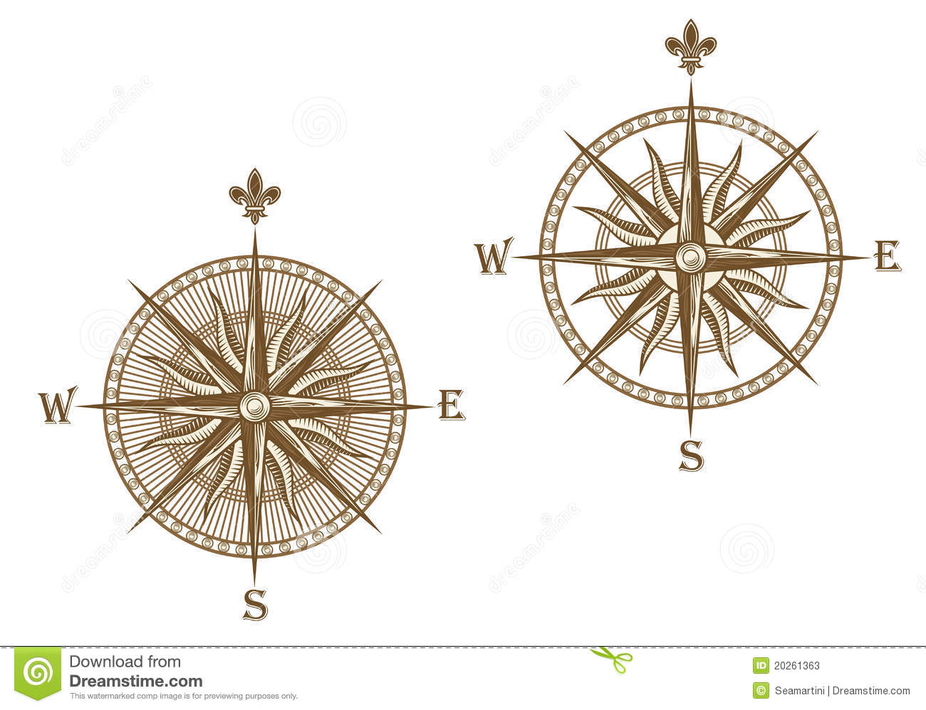 how to use a sine compass