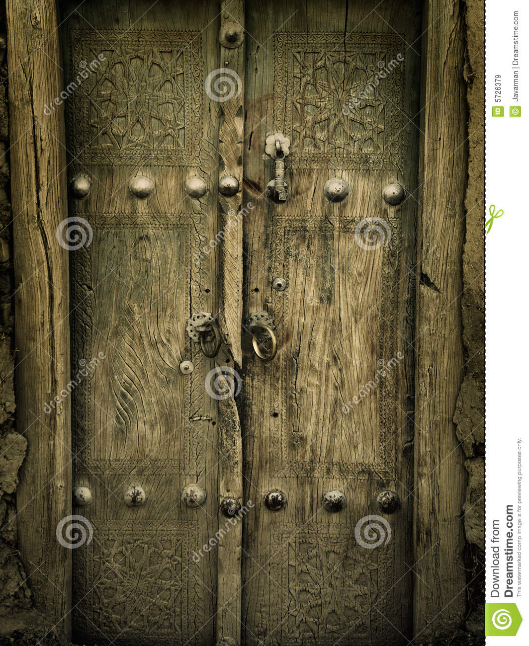 Ancient doors stock image image of antique gate for Puertas viejas