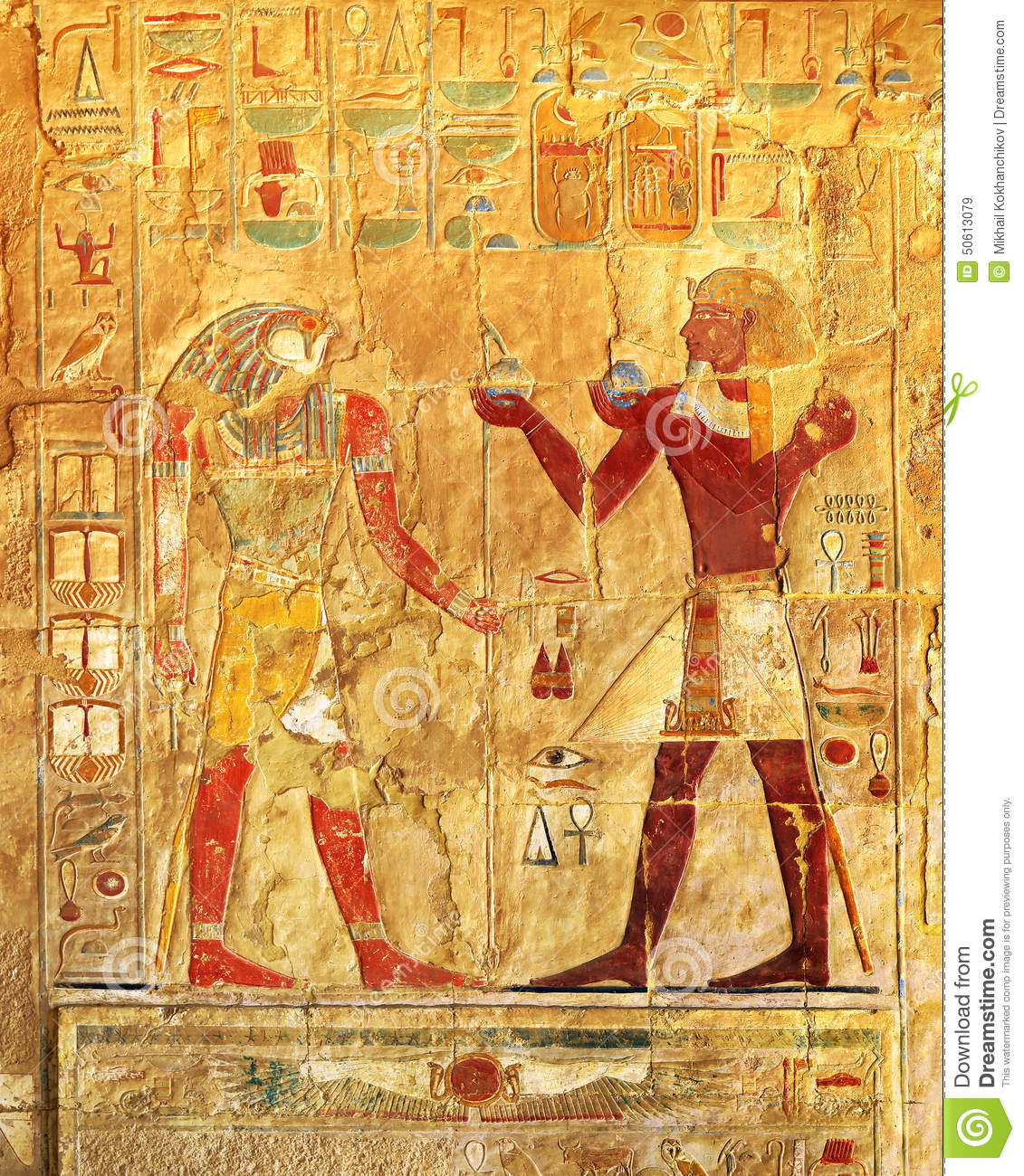Ancient egypt color images stock image. Image of letter - 50613079