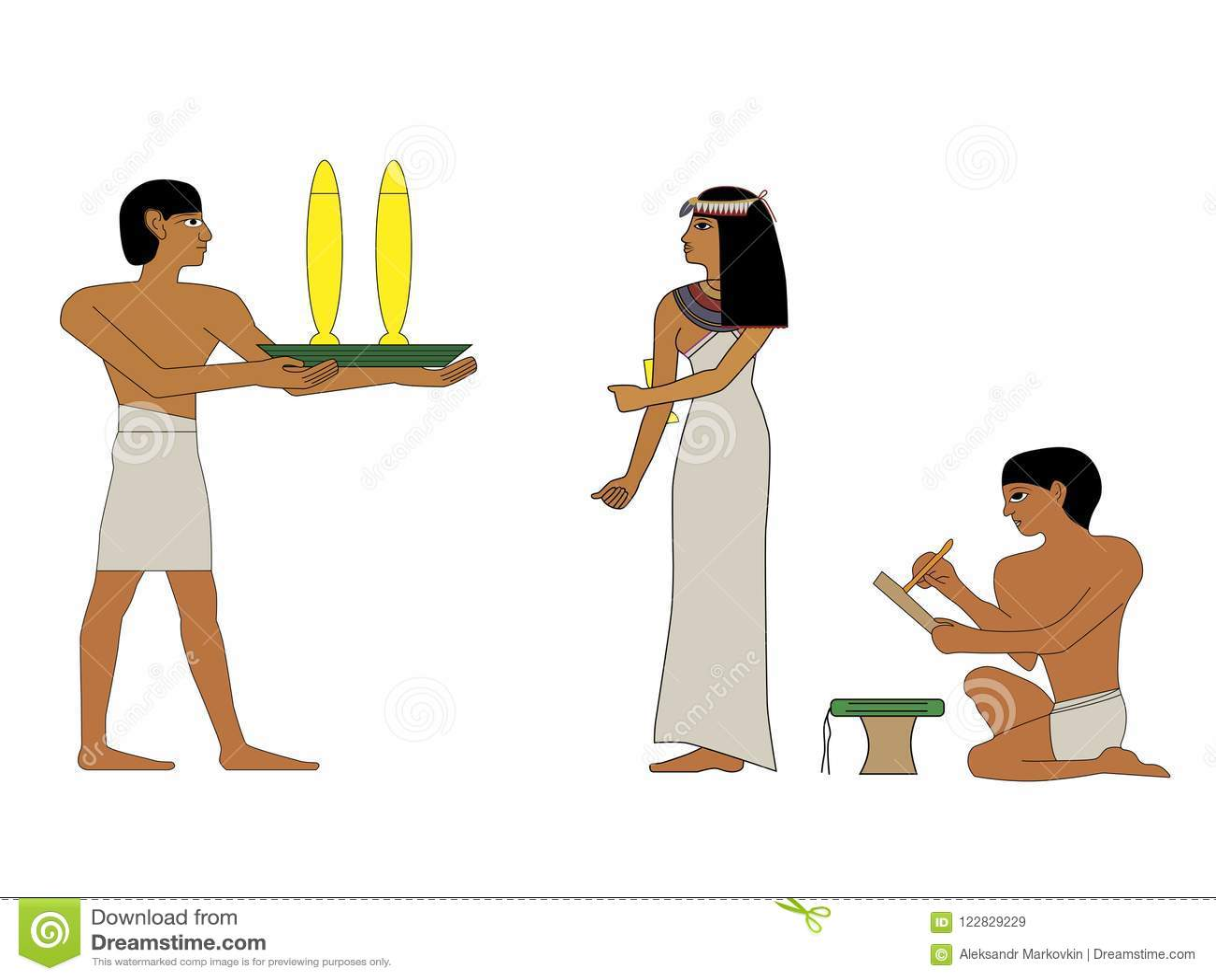 Image result for ancient egypt people 고대의 막장 드라마- 두 형제 이야기