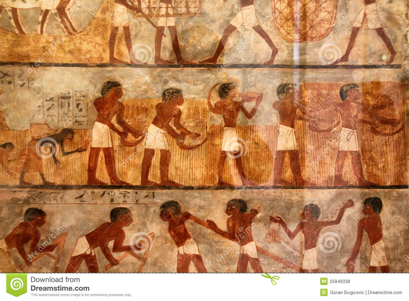 Ancient Egyptian Art Royalty Free Stock Photos - Image: 25849338