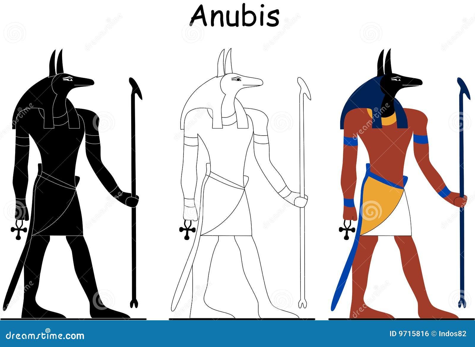 Ancient Egyptian god - Anubis