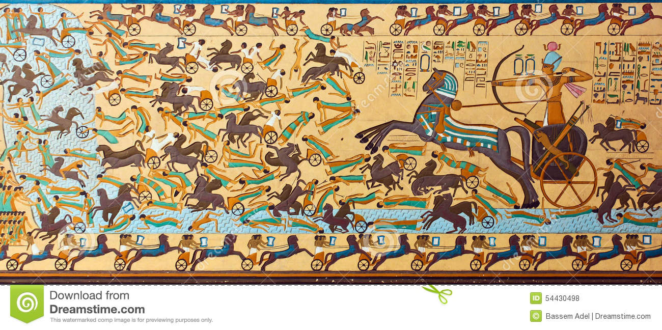 Ancient Egyptian Pharaonic Art Stock Photo - Image of pharaoh ...