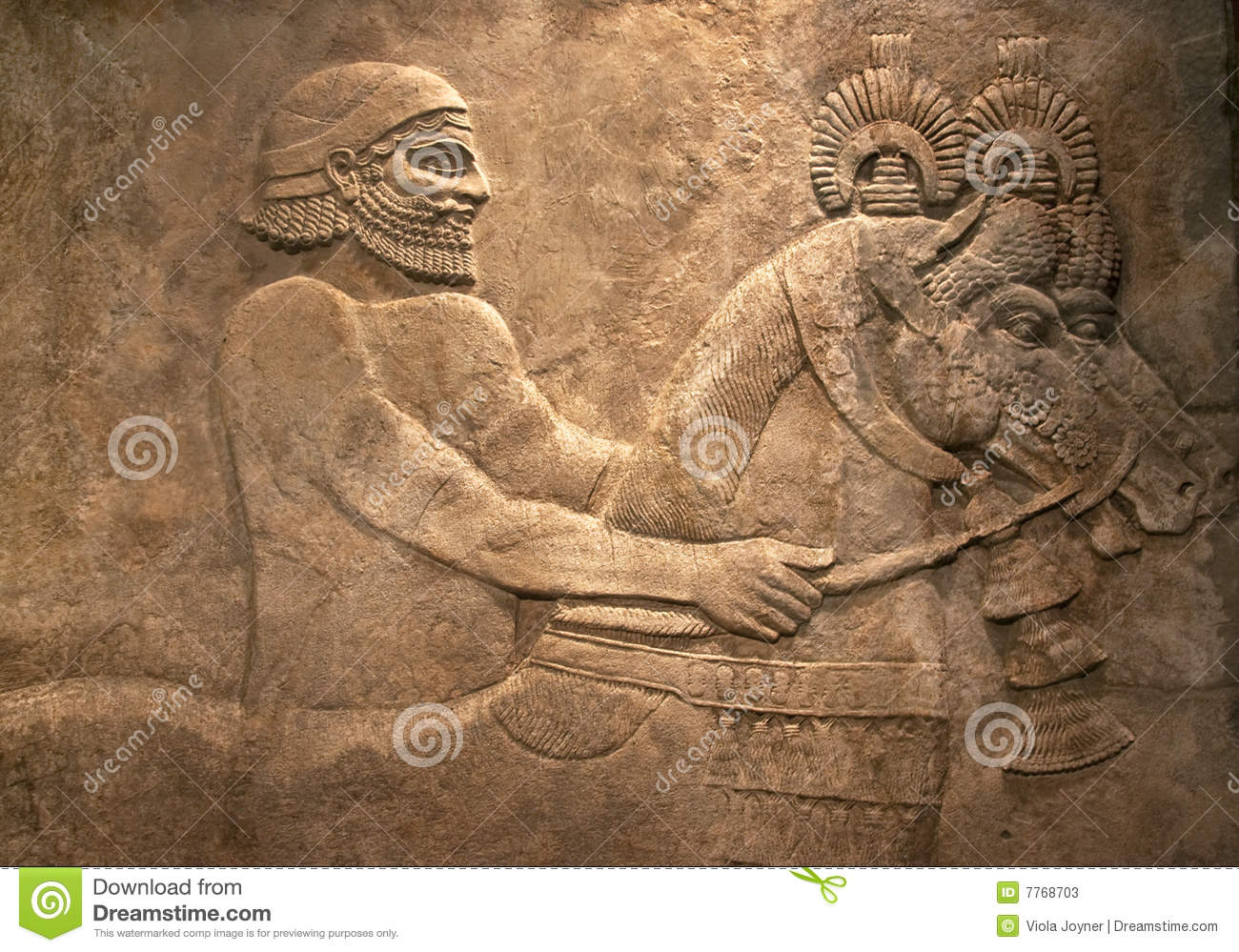 Ancient egyptian stone carving stock image