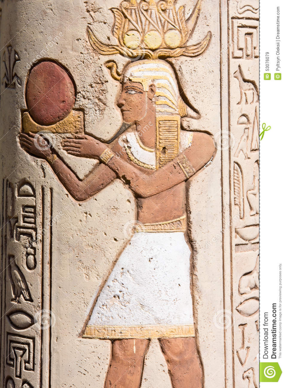 Ancient egyptian symbols stock image image of egypt 53076079 ancient egyptian symbols biocorpaavc