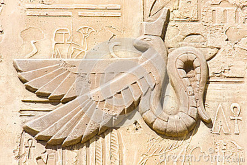Stock photography ancient egyptian symbols image