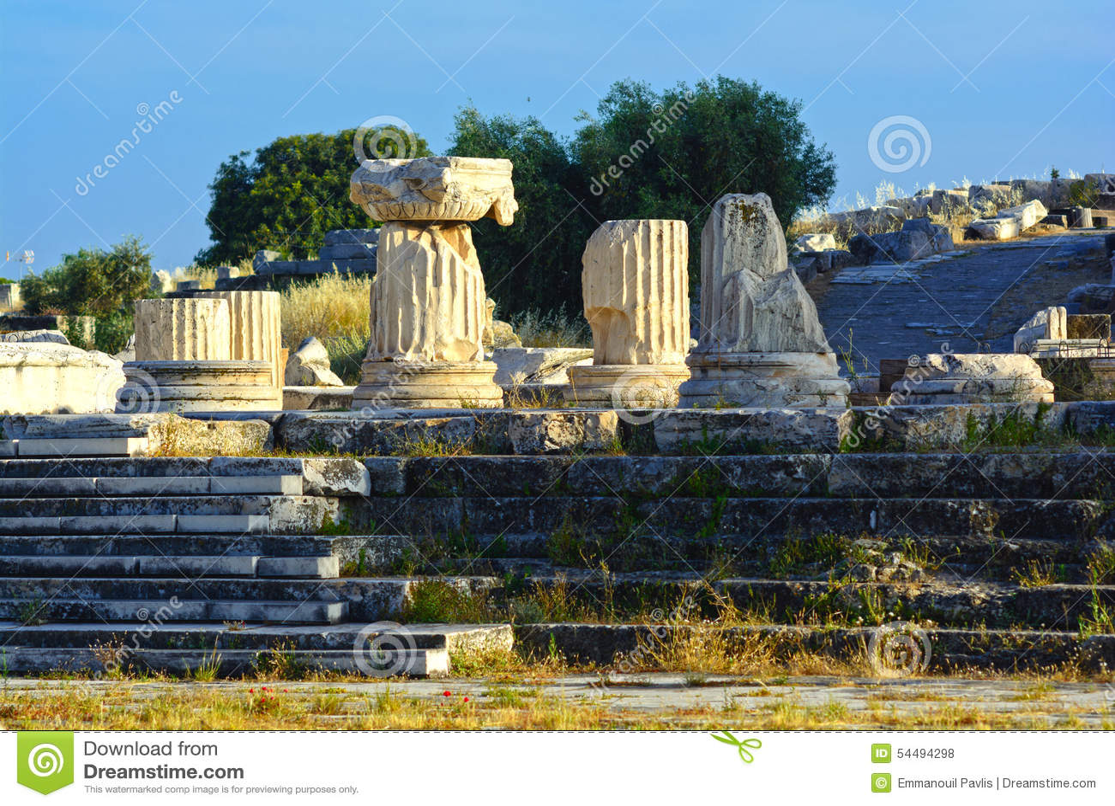Ancient Eleusis Editorial Stock Photo - Image: 54494298