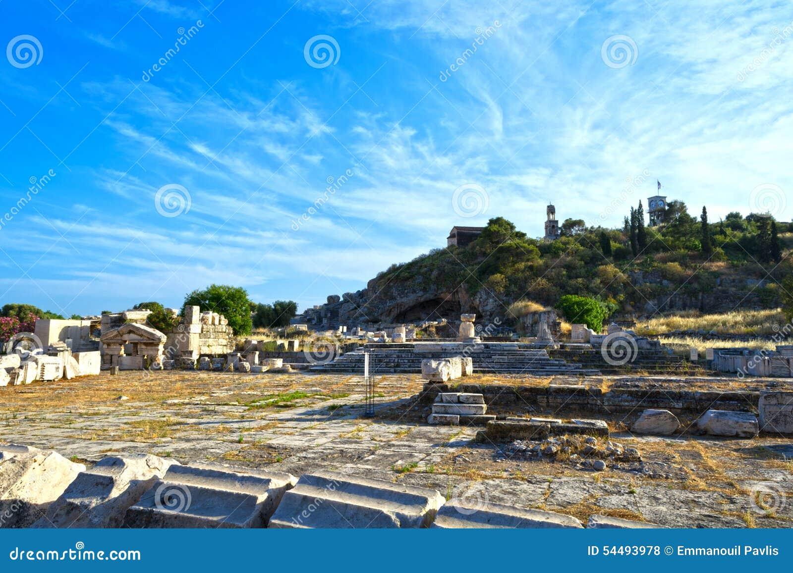 Ancient Eleusis Editorial Stock Photo - Image: 54493978