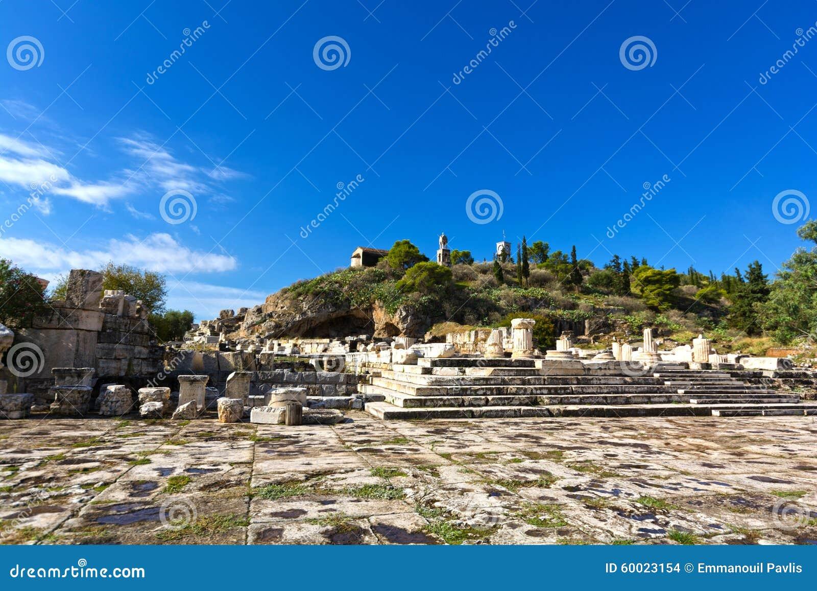 Ancient Eleusis Stock Photo - Image: 60023154