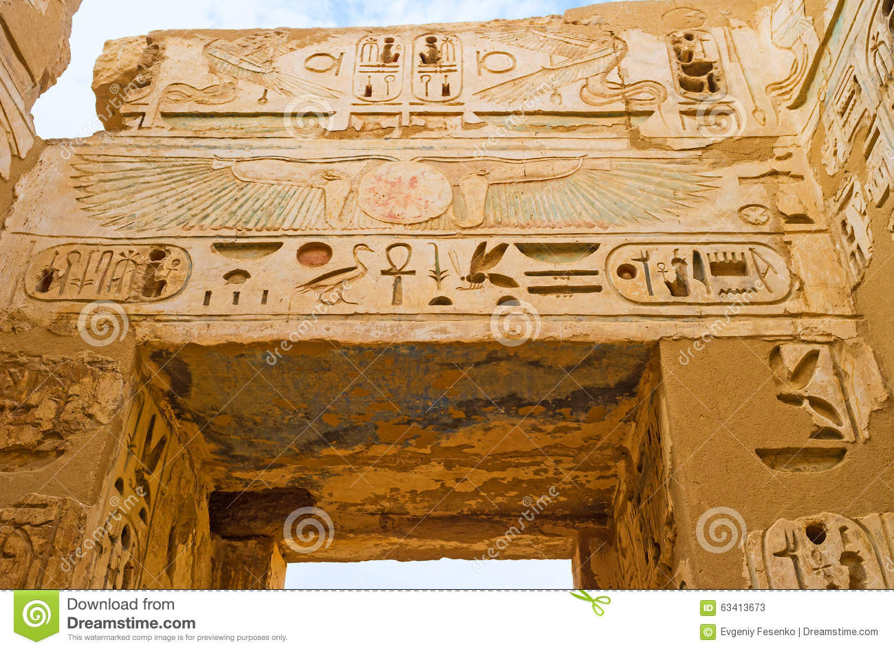 The ancient entrance decoration stock photo image 63413673 for Ancient decoration
