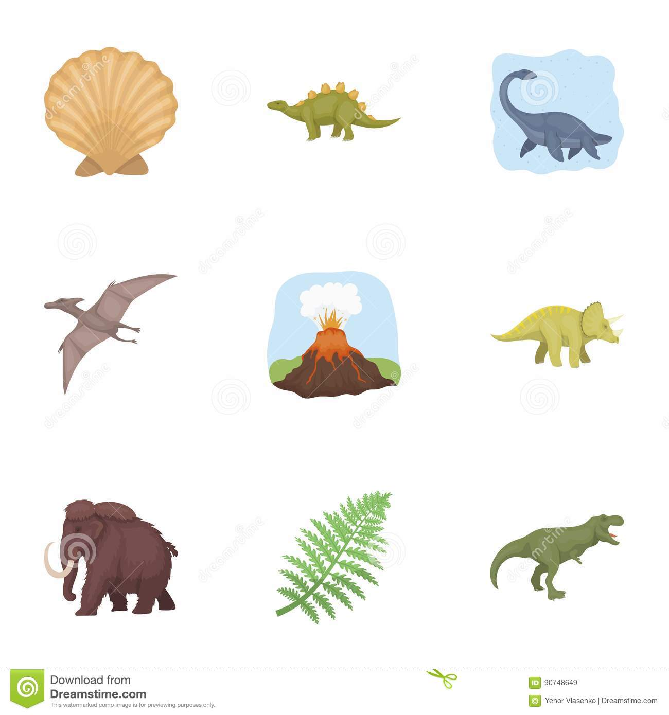 Image of: Mammals Ancient Extinct Animals And Their Tracks And Remains Dinosaurs Tyrannosaurs Pnictosaursdinisaurs Dreamstimecom Ancient Extinct Animals And Their Tracks And Remains Dinosaurs