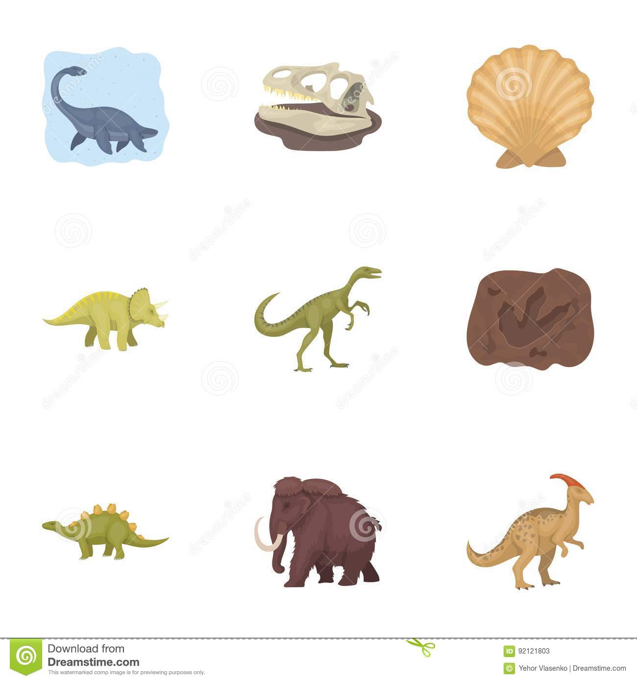 Image of: Ancient Beasts Ancient Extinct Animals And Their Tracks And Remains Dinosaurs Tyrannosaurs Pnictosaursdinisaurs Dreamstimecom Ancient Extinct Animals And Their Tracks And Remains Dinosaurs