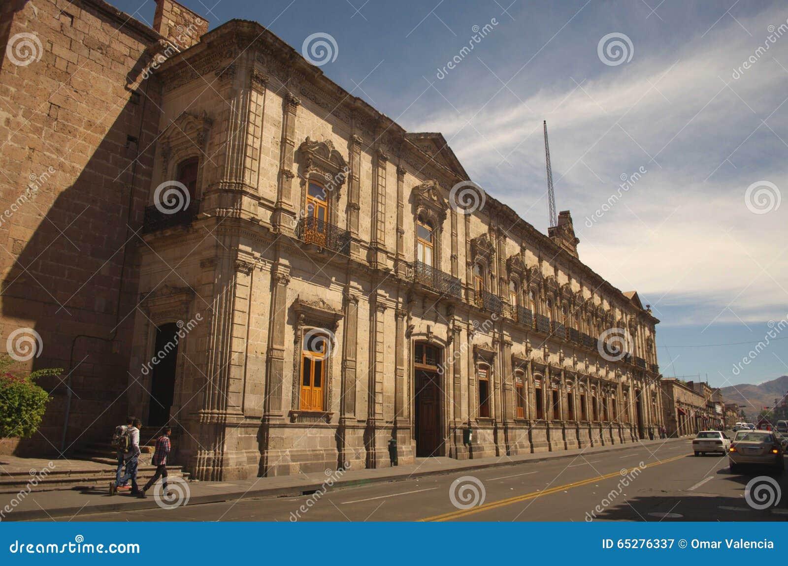 Ancient federal palace of Morelia