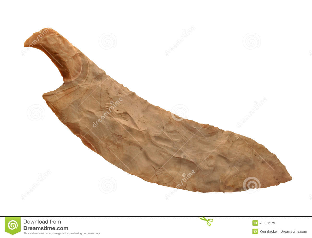 Ancient egyptian chair - Ancient Flint Stone Knife Isolated Royalty Free Stock Images Image