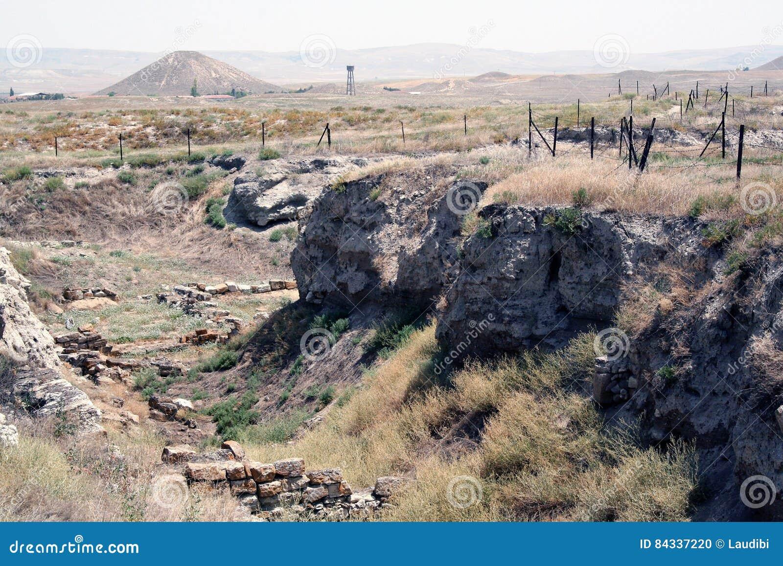 The ancient Gordium in Turkey