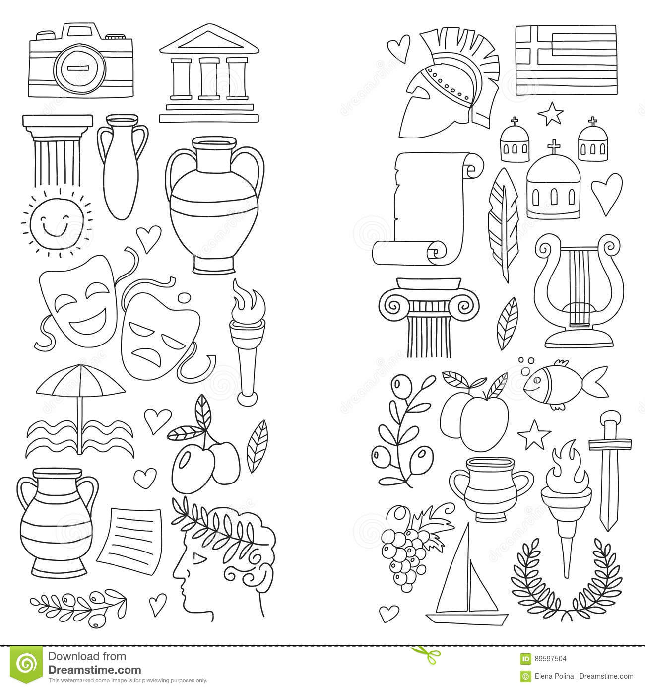 amphora-Ancient-Greece-Coloring-Pages.jpg (1177×1562) | Ancient ... | 1390x1300