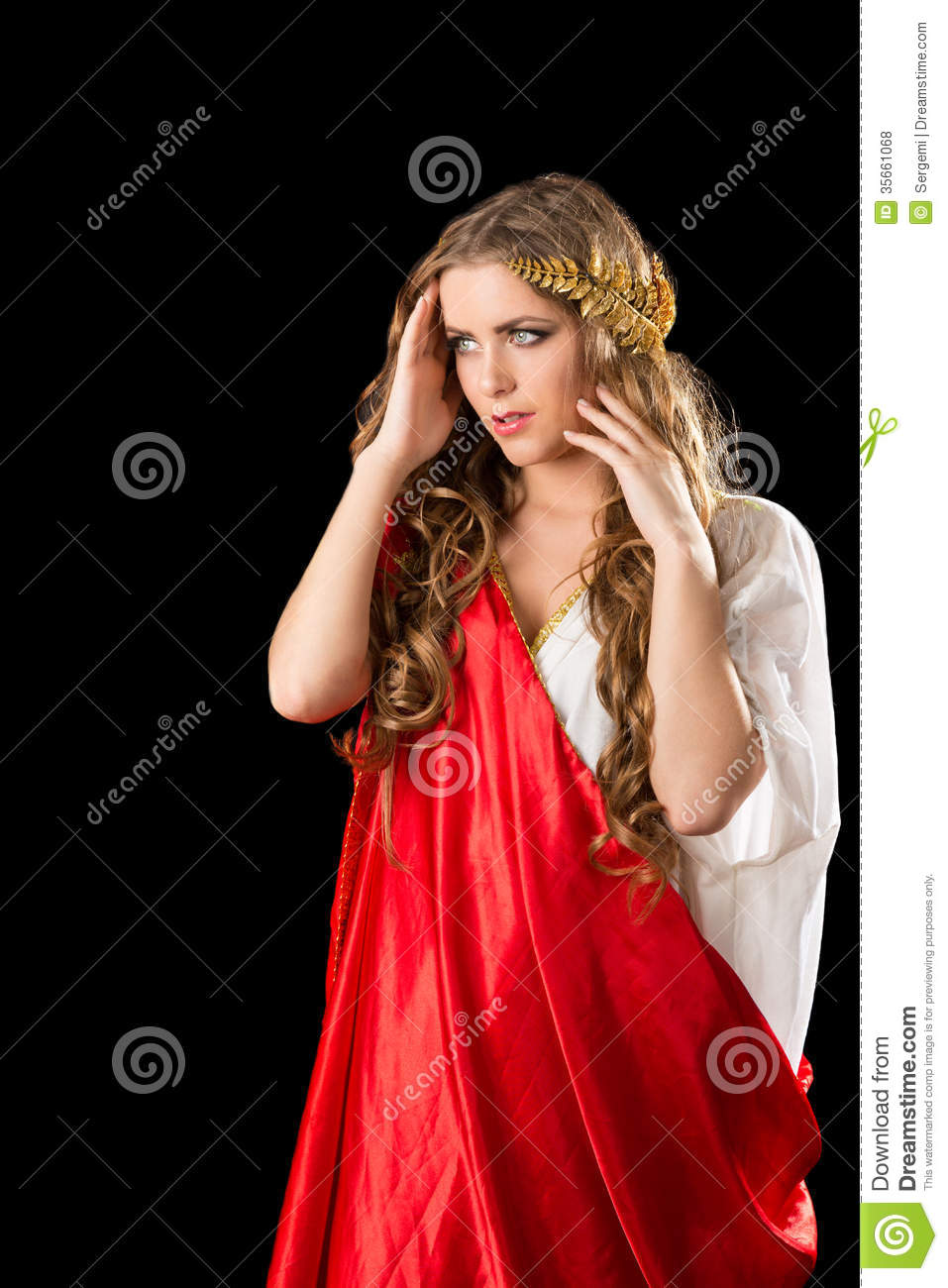 Ancient Greece Woman Royalty Free Stock Photos Image