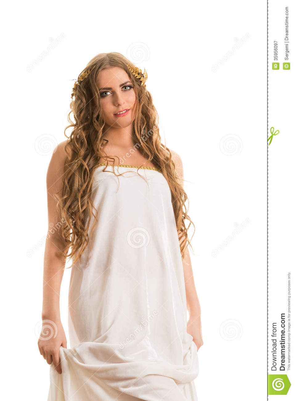 Ancient Greece Woman Royalty Free Stock Photography - Image: 35956097