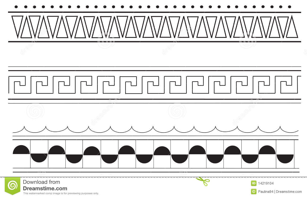 Versace Clipart Greek Frame - Parallel - Png Download (#3470180) -  PinClipart