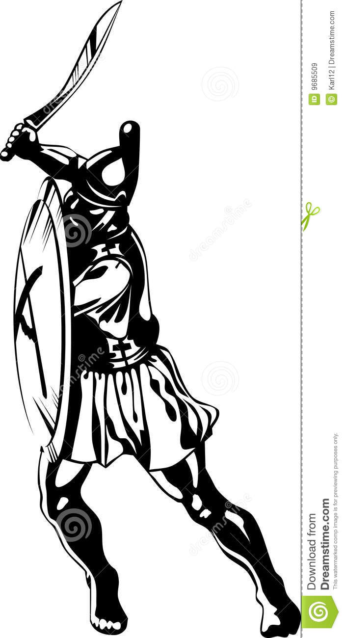 ancient greek hero royalty free stock images