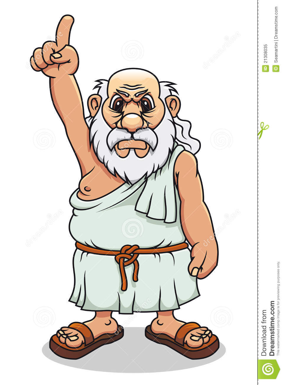 Ancient Greek Man Royalty Free Stock Photo - Image: 21308035