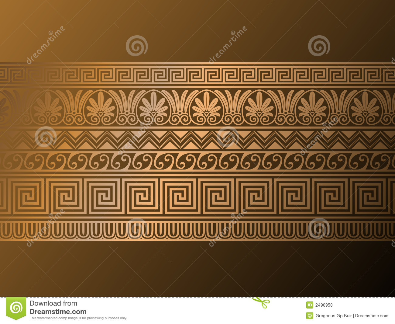 Ancient greek ornaments royalty free stock photos image for Ancient greek decoration