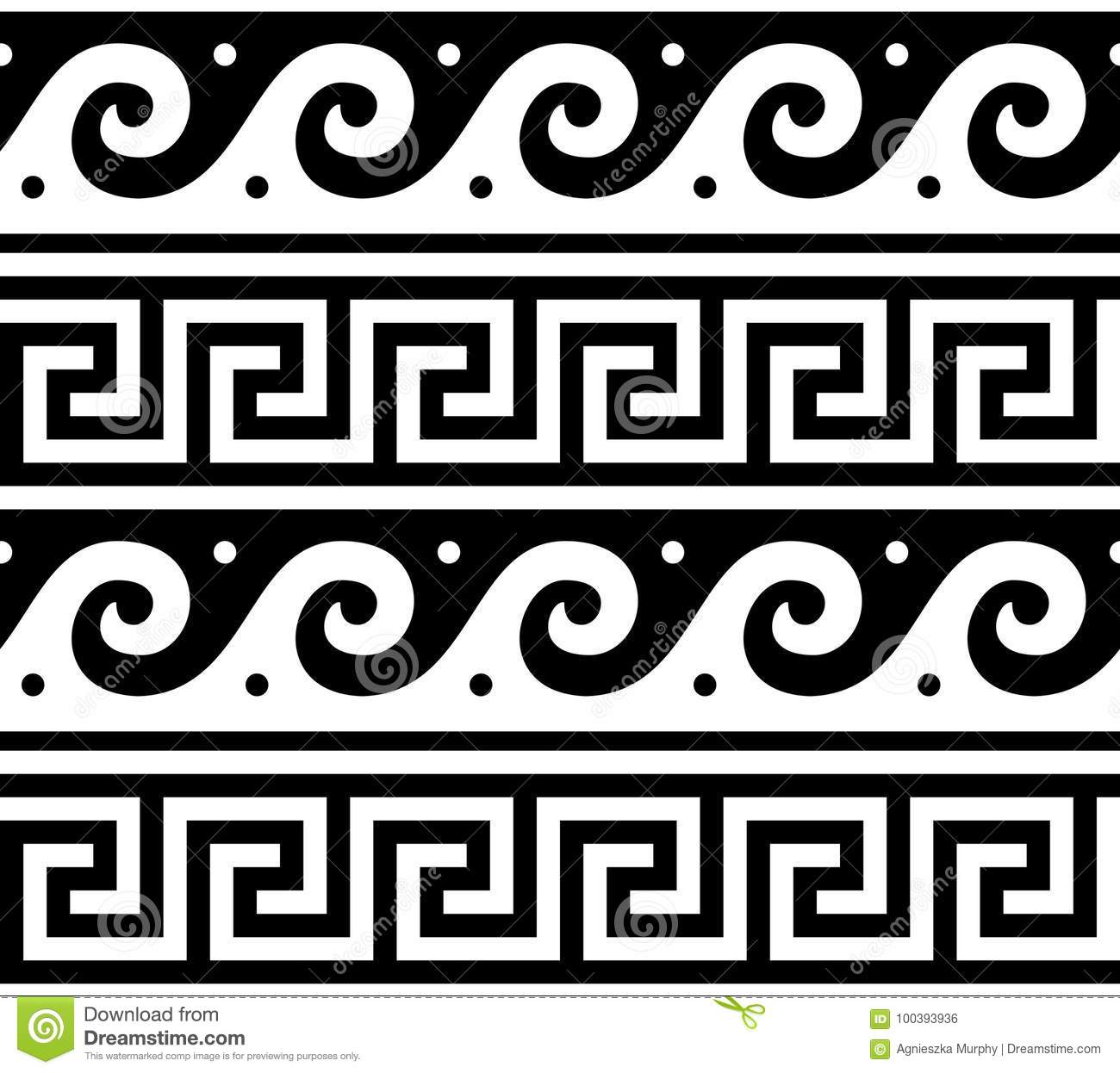 Ancient greek seamless pattern tradional waves and key pattern ancient greek seamless pattern tradional waves and key pattern form greece reviewsmspy