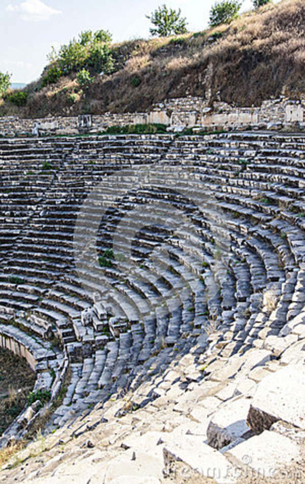 ancient greek theatre stock photo image of cavea roman 42611066