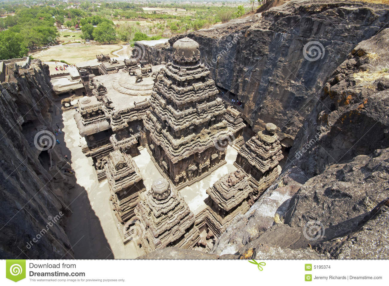 Ellora Caves - India - Ancient Hindu Rock Temple