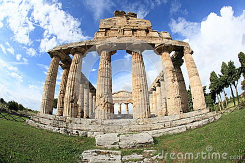 Ancient Italian architecture in Southern Italy