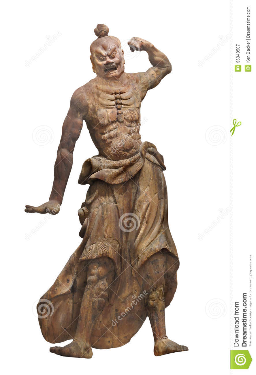 Gallery For > Japanese Warrior Statue