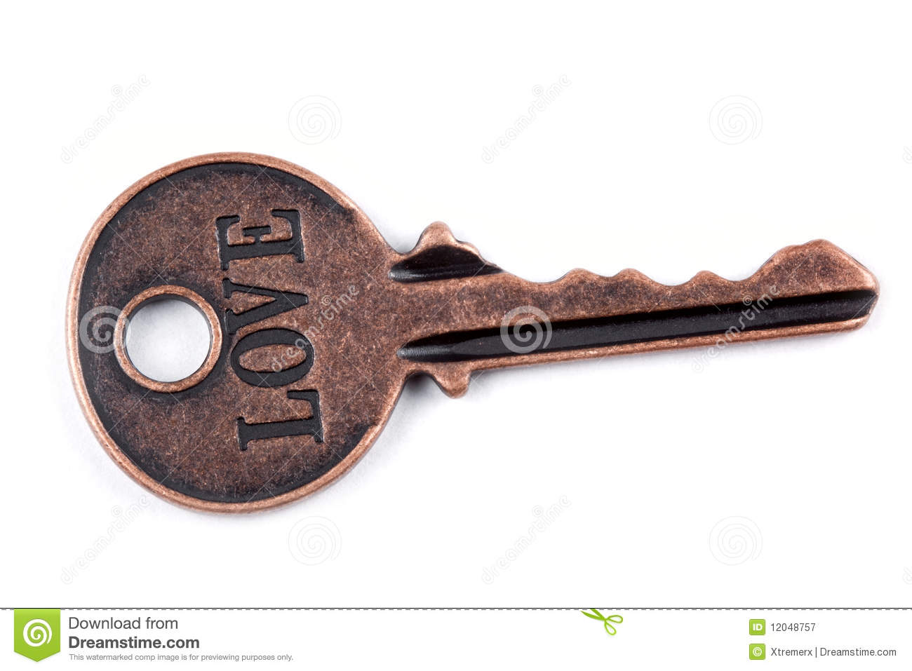 Ancient Key Royalty Free Stock Photography Image 12048757
