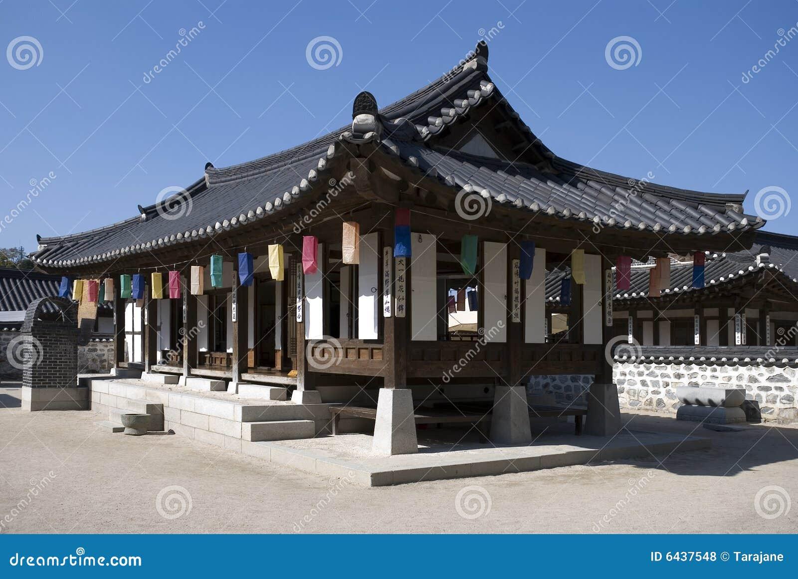 ^ ncient Korean House oyalty Free Stock Photos - Image: 6437548