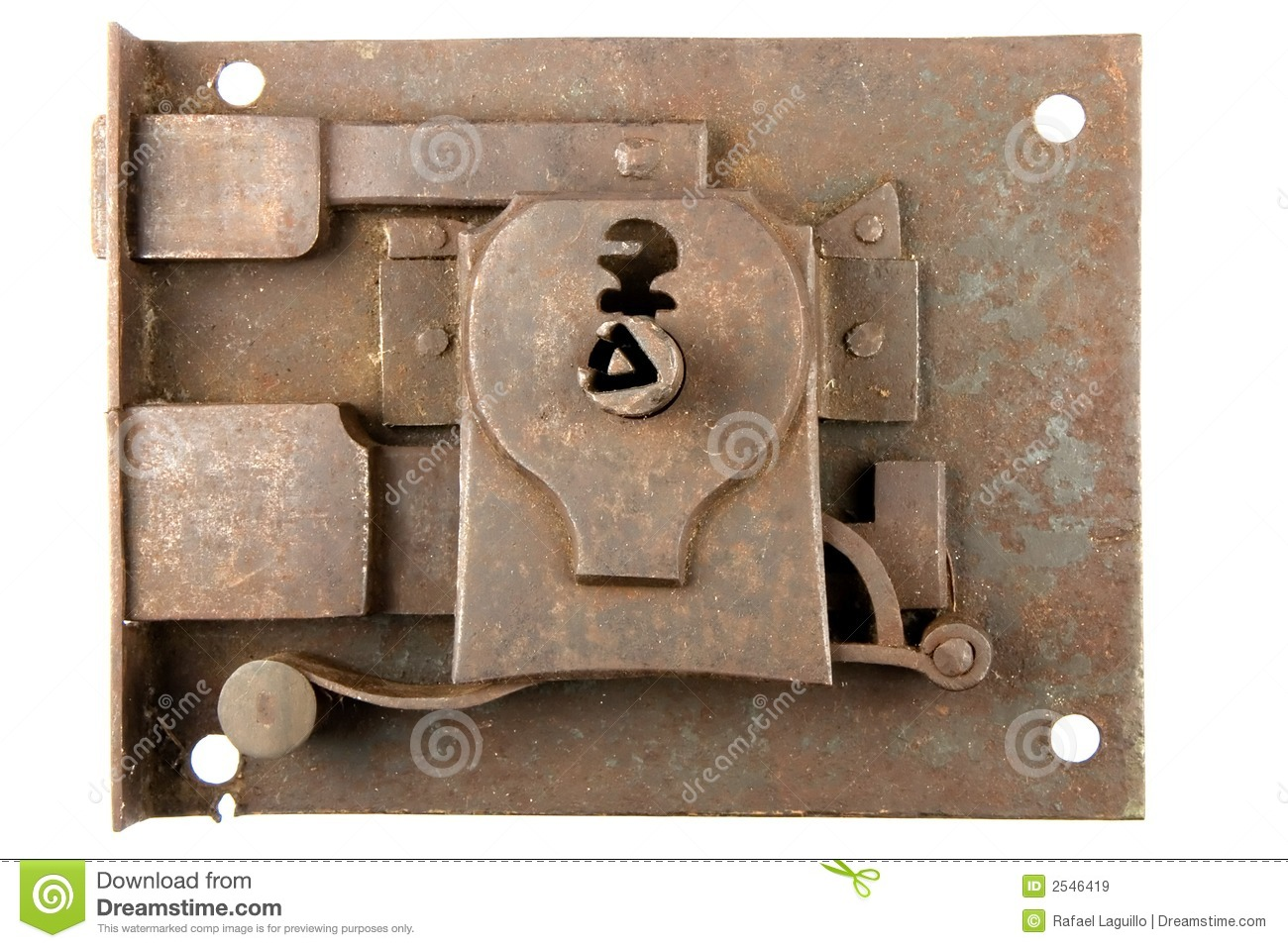 Ancient Lock Royalty Free Stock Images Image 2546419
