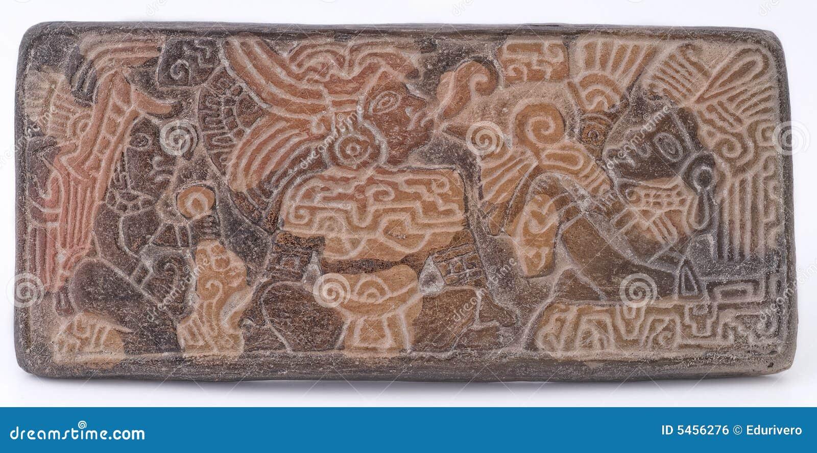 Ancient Mayan Glyphs stock photo Image of maya ancient 5456276