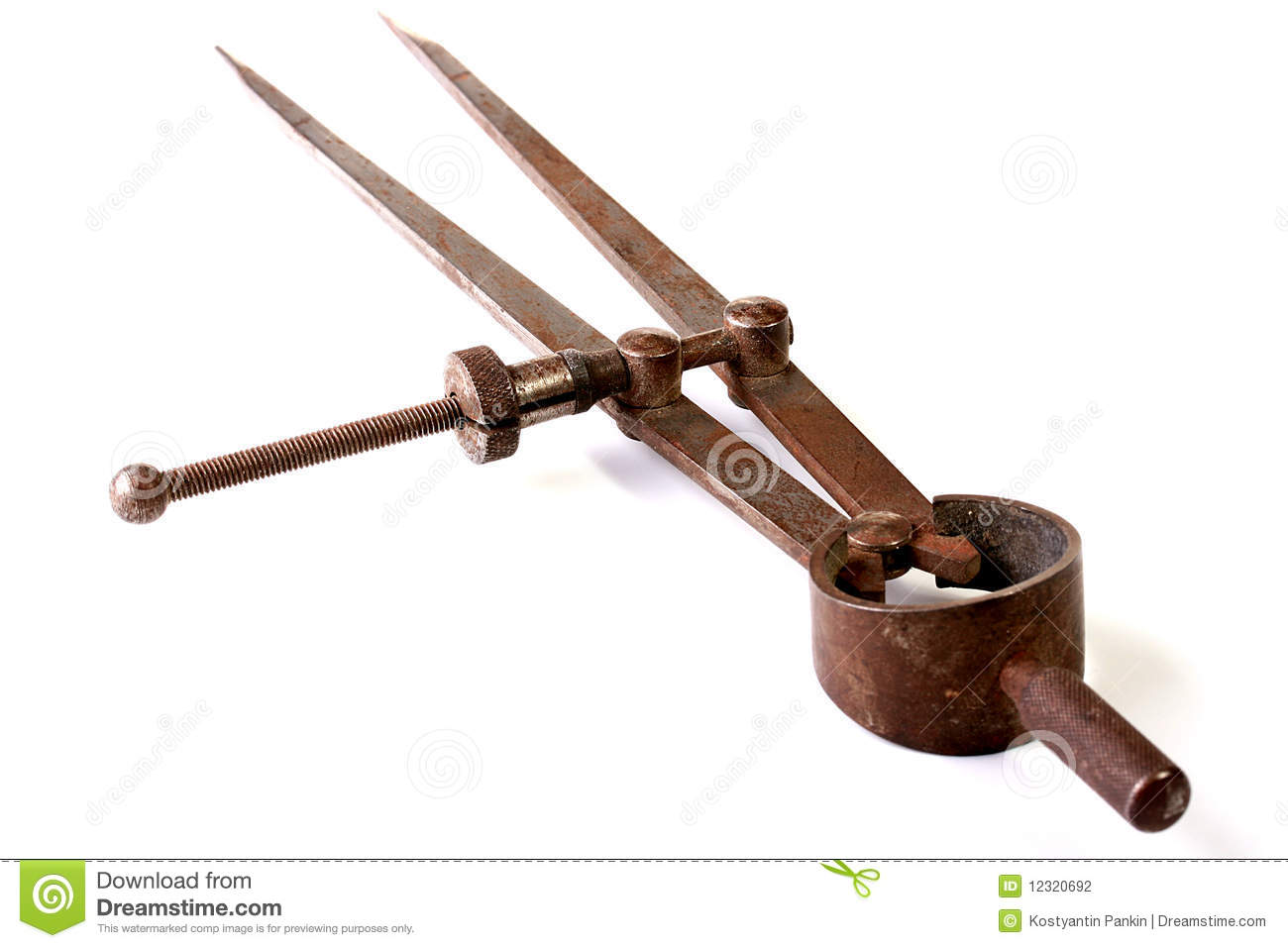 Ancient Measuring Tool Stock Photo Image Of Measurement