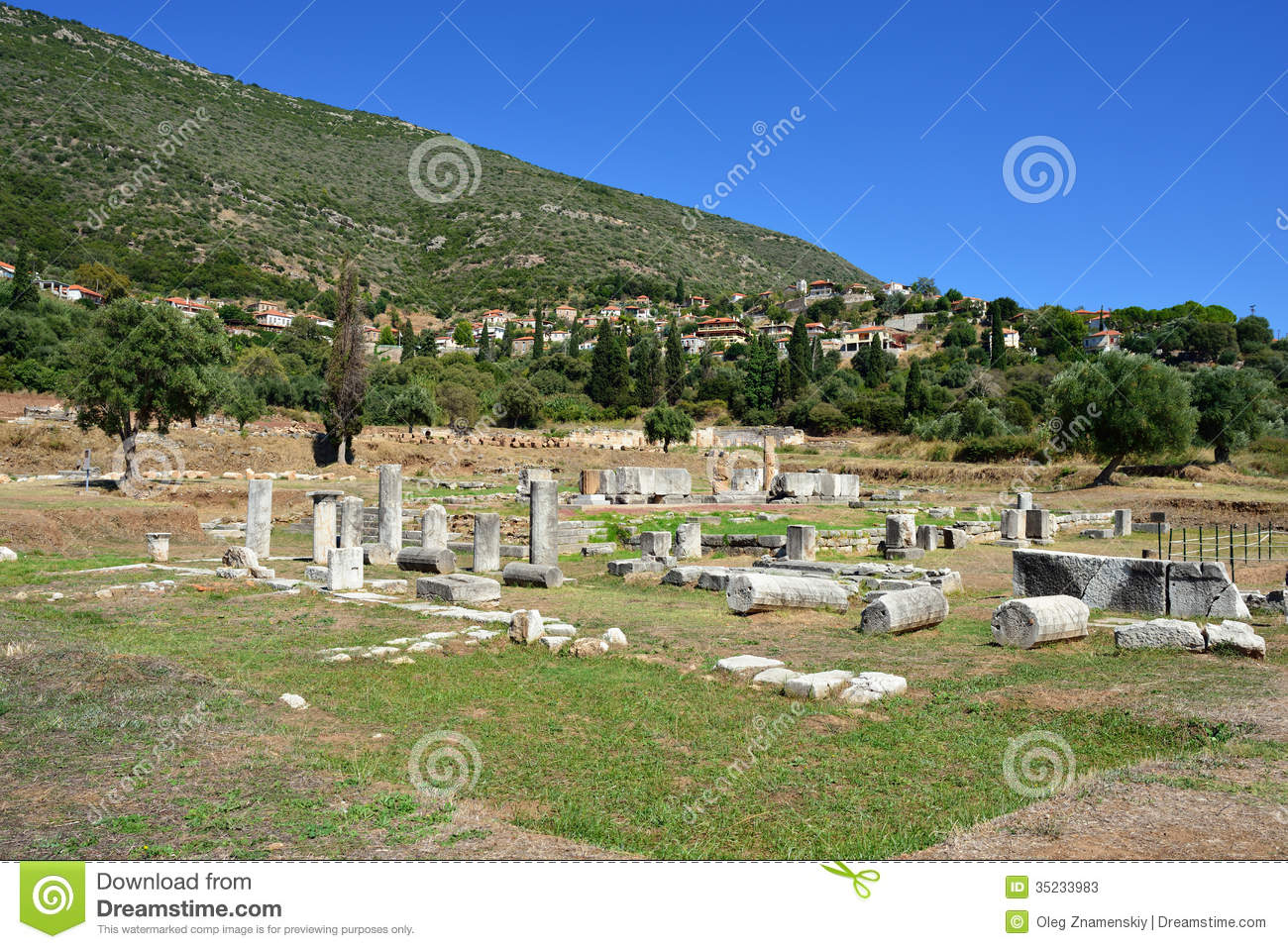 Ancient Messini Stock Photos - Image: 35233983