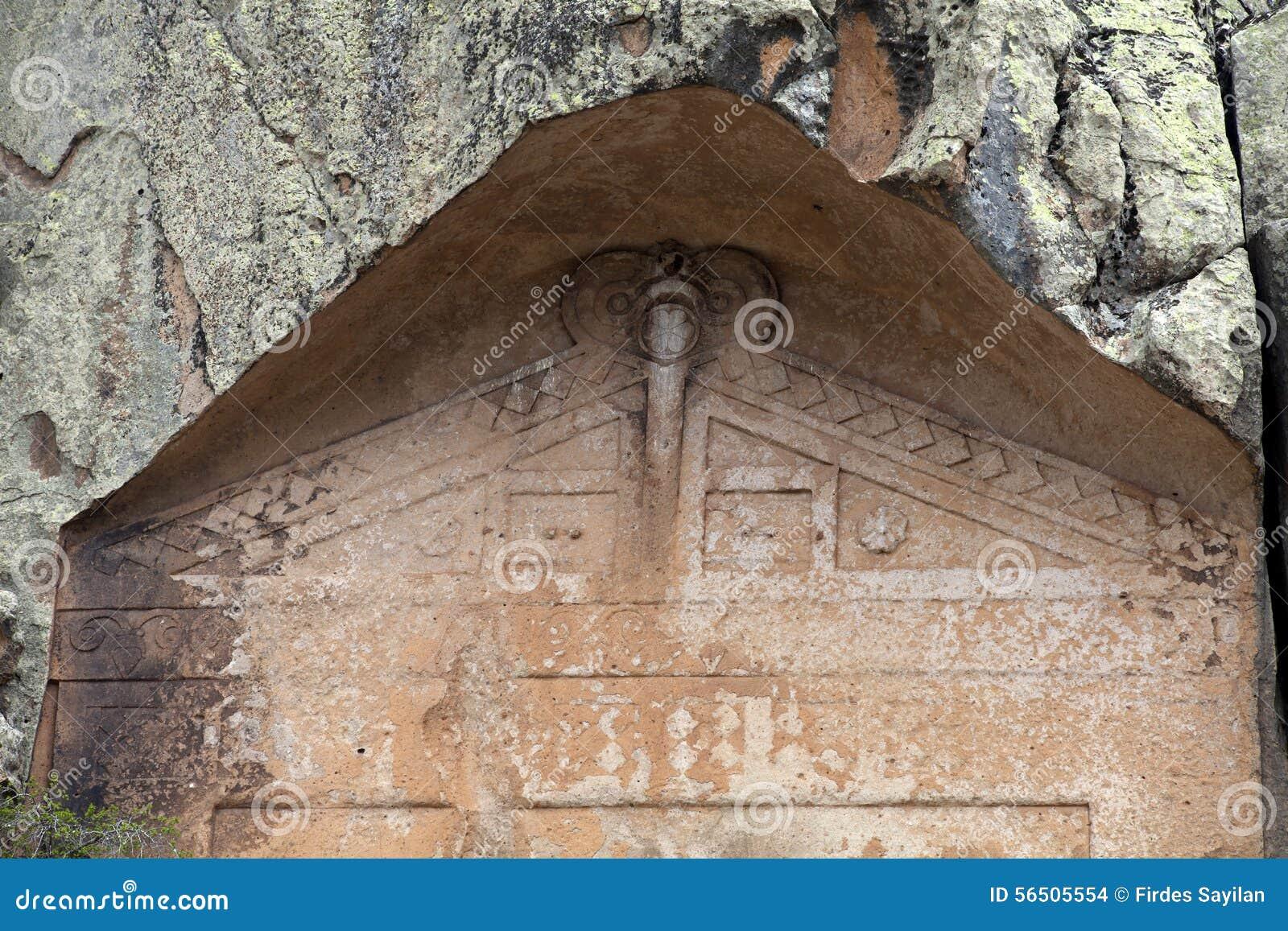 Ancient Midas City Stock Photo - Image: 56505554