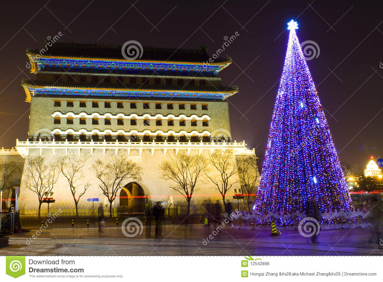 Ancient and modern Beijing