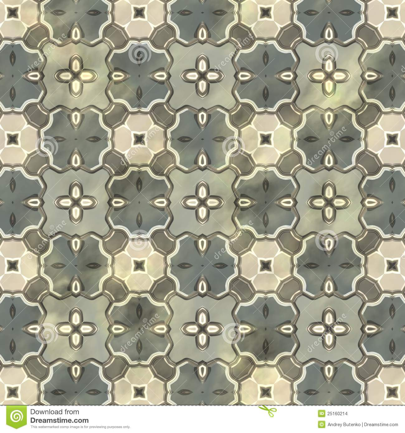 Ancient Mosaic Floor Stock Images Image 25160214