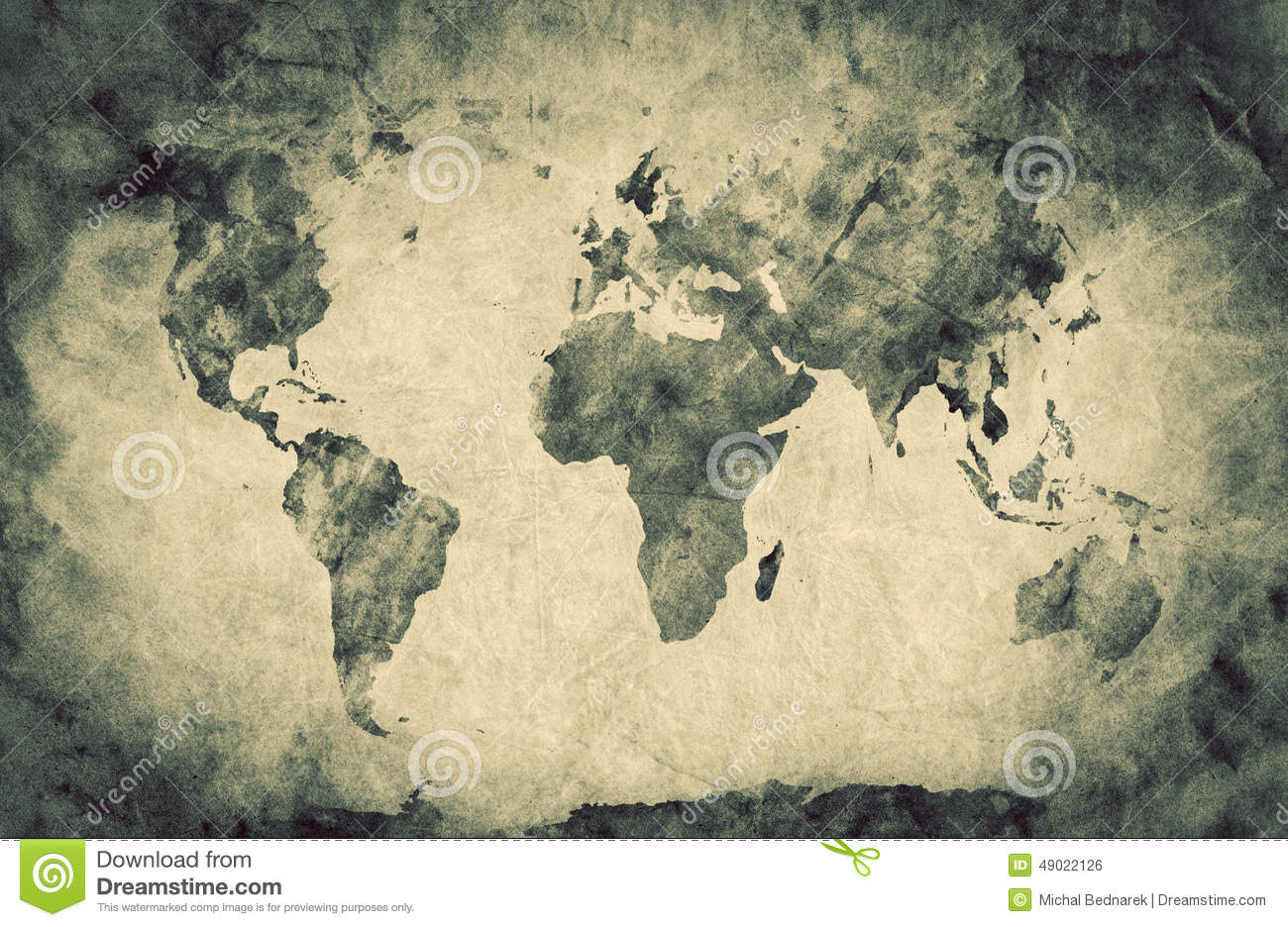 World map sketch stock vector illustration of continents 43560811 ancient old world map pencil sketch grunge vintage royalty free stock image gumiabroncs Gallery