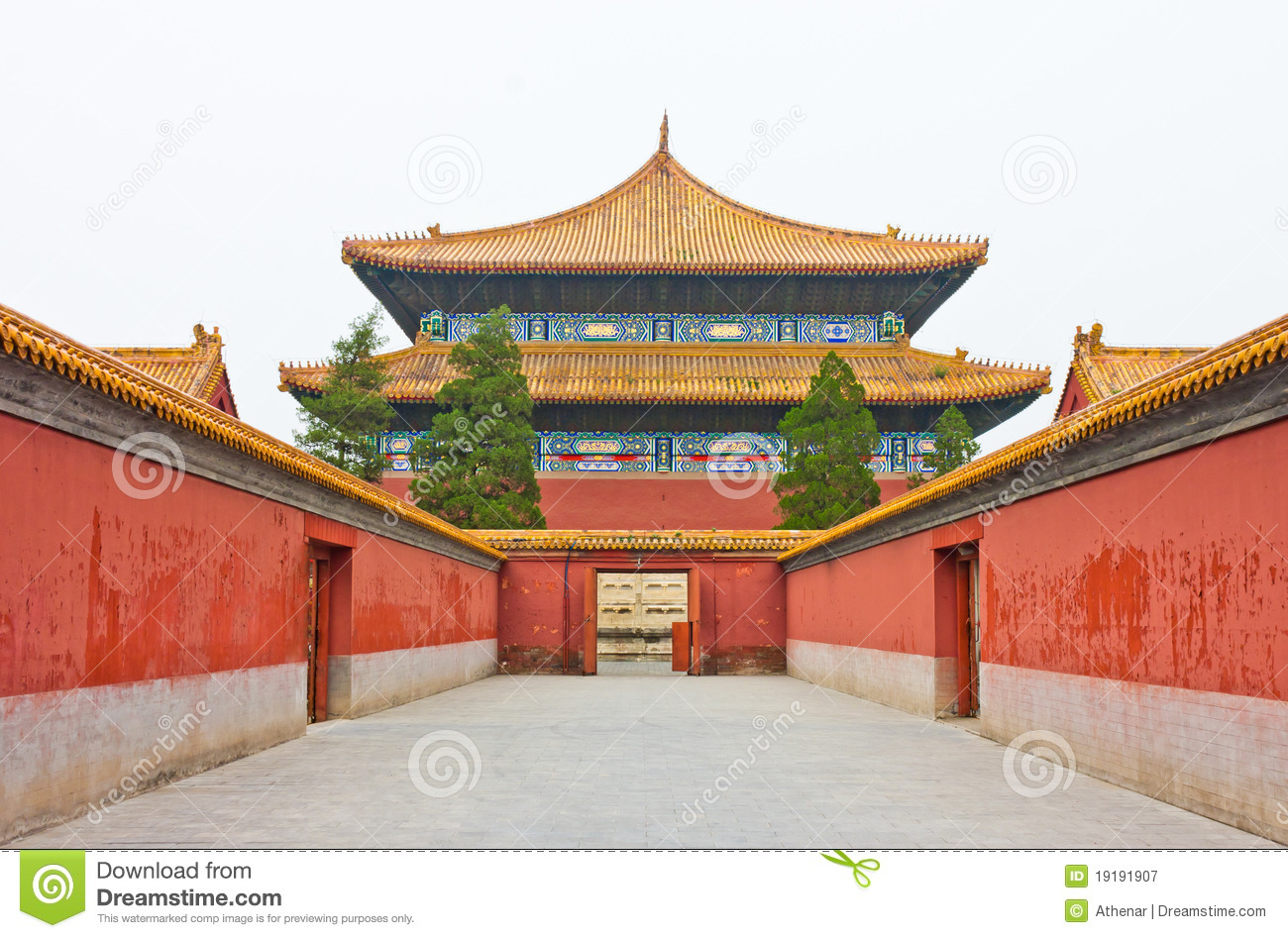 Ancient Palace Of China Stock Image Image Of Famous